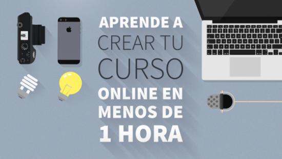 crear curso online
