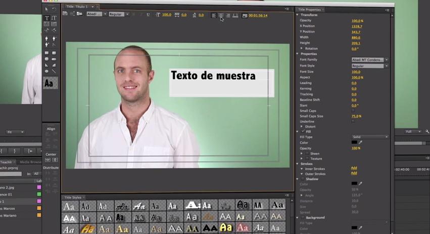Edita los videos de tu curso online