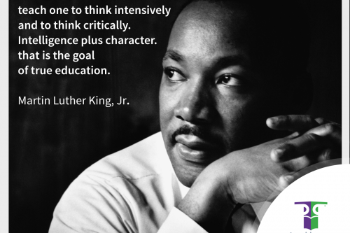 martin luther king goal education