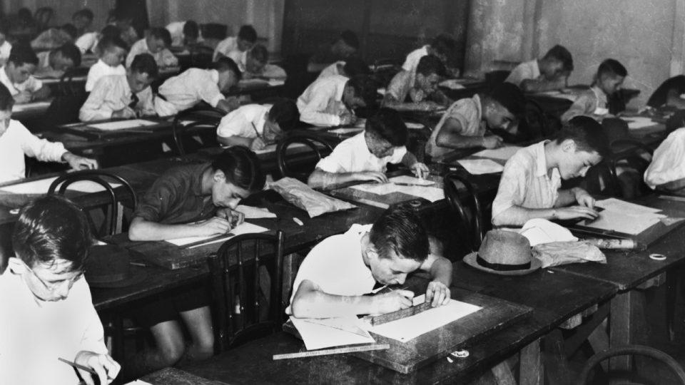 old school utopia education educación