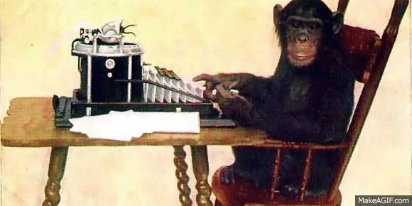 Monkey_typewriting GIF