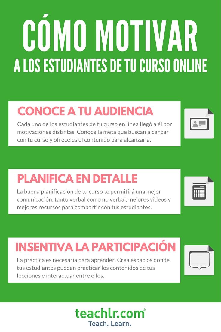 C mo motivar a los estudiantes de mi curso online for Curso de interiorismo online